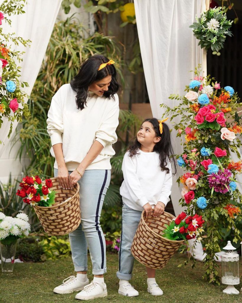 Sanam Jung Shared New Adorable Pictures With Daughter