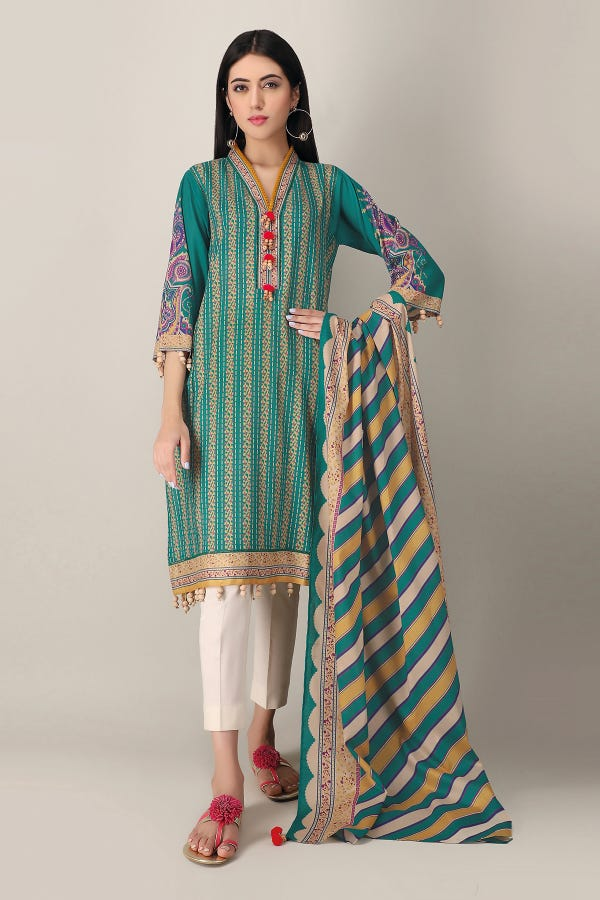 Khaadi Lawn Collection 2021 | Pictures And Prices