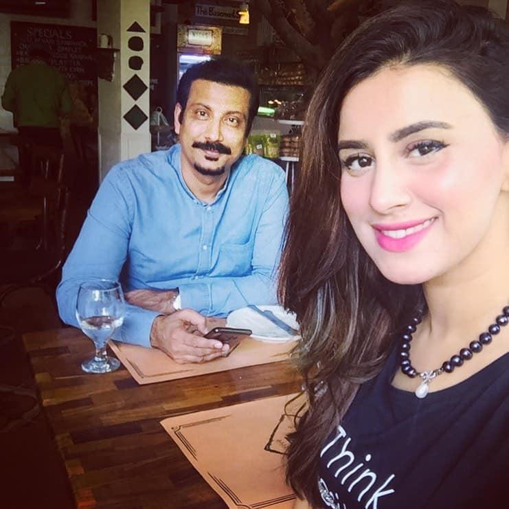 Beautiful Pictures Of Madeha Naqvi And Faisal Subzwari