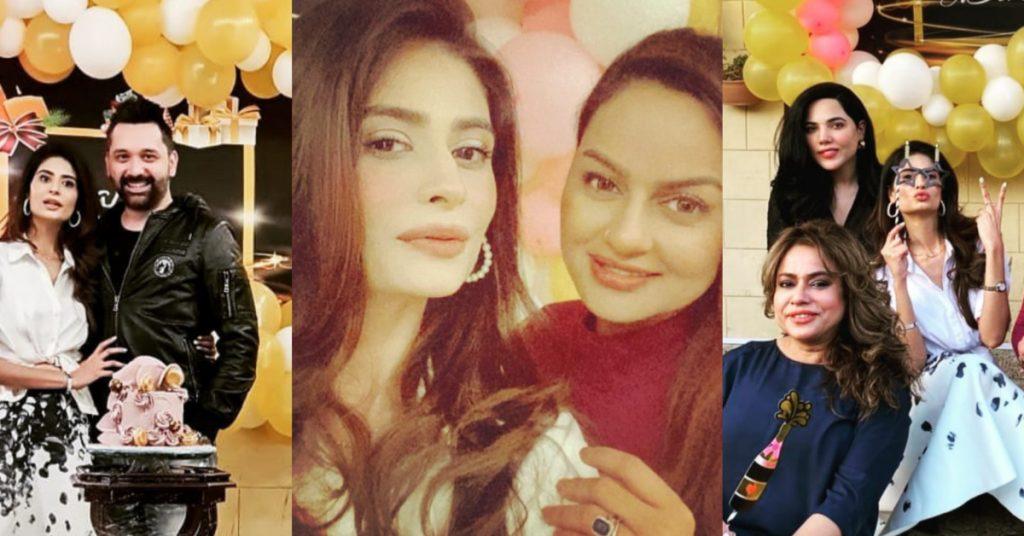 Pictures from Madiha Iftikhar's Birthday Bash