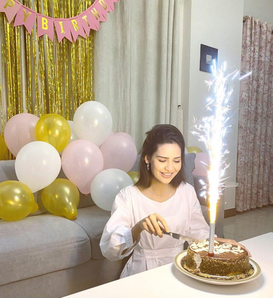Madiha Imam Celebrated Her Birthday at Home