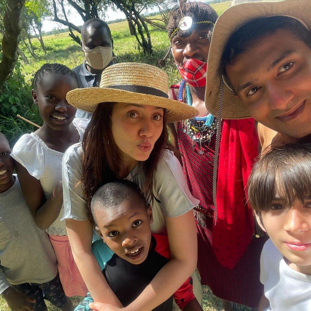 Latest Clicks Of Mahira Khan Vacationing In Africa