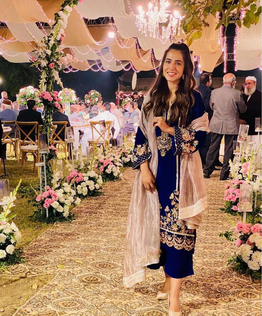 Mansha Pasha's Beautiful Pictures From Wedding