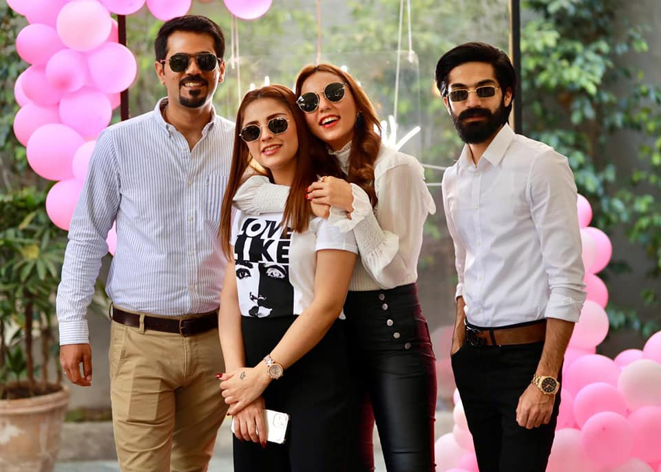 Maryam Noor Spotted Celebrating Birthday With Friends And Family