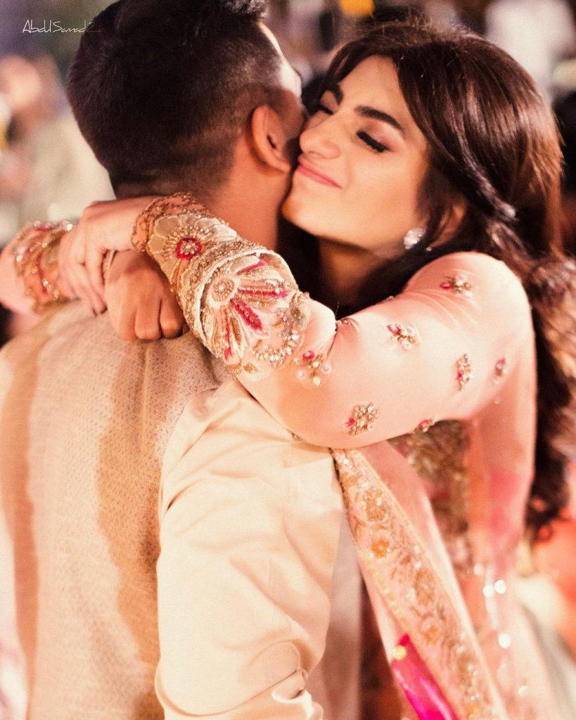 Maryam Ansari Beautiful Pictures With Husband
