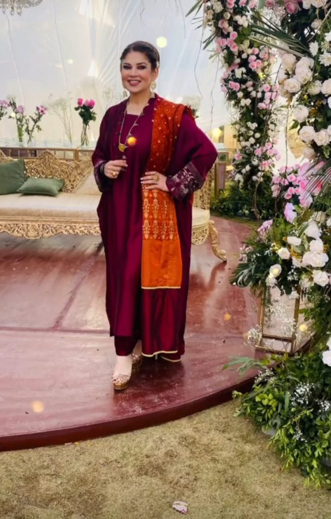 Mishi Khan Pictures From Family Wedding