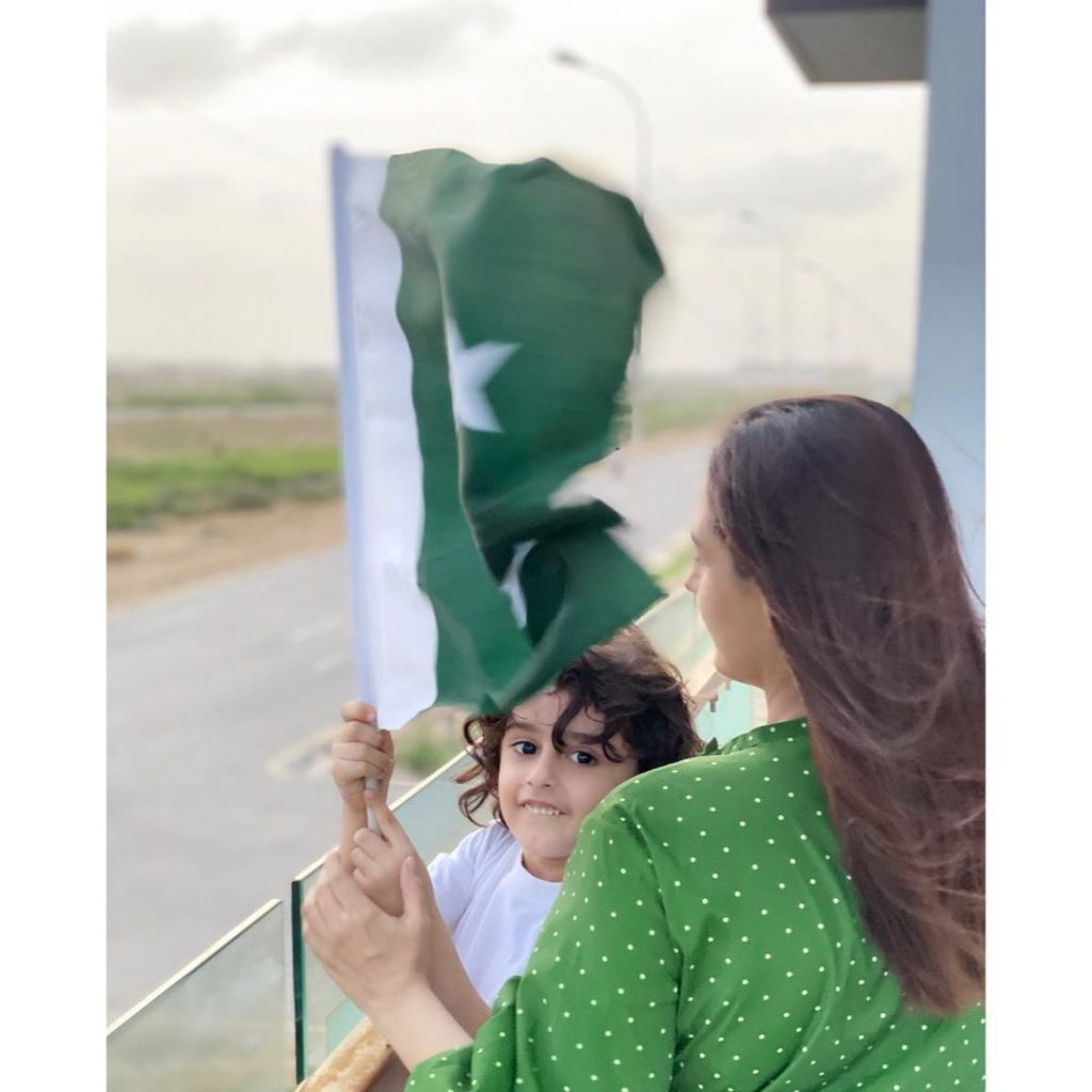 Latest and Loveliest Photos of Momal Sheikh With Her Family