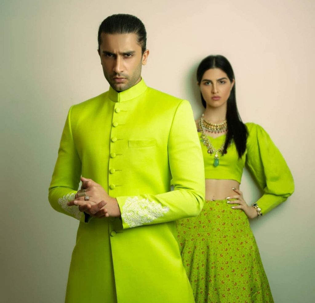 Munib Nawaz Collection For BCW Featuring Usman Mukhtar