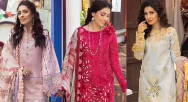 Mushq Luxury Lawn Collection Ft. Ayeza Khan