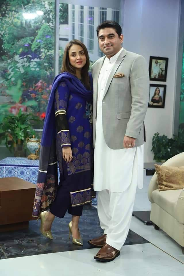 Nadia khan New Pictures With Husband