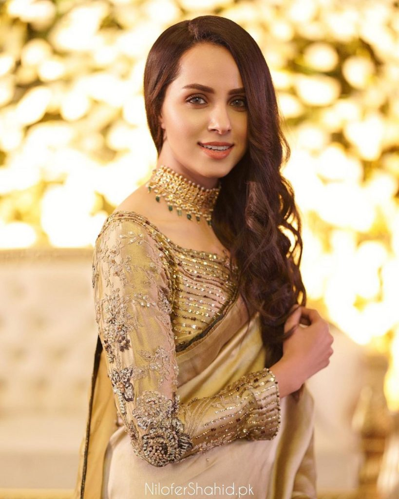 Nimra Khan Looks Ravishing On A Recent Wedding Event