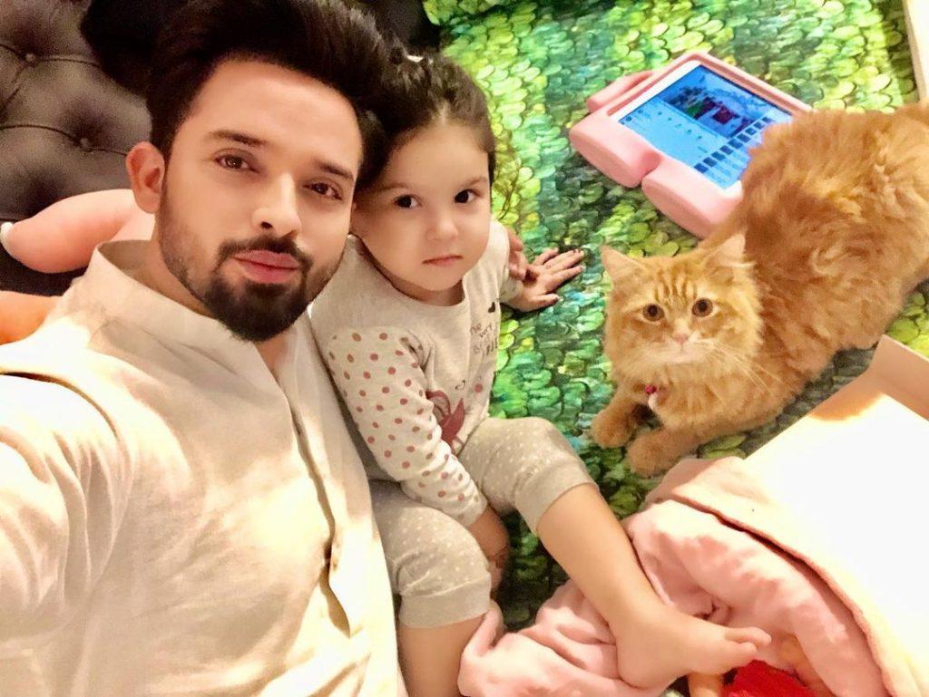 Cute Family Photos of Noman Habib