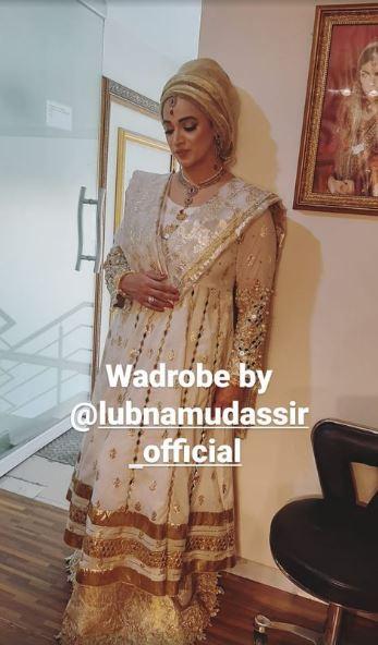 Noor Bukhari Spotted At Her Best Friends Wedding