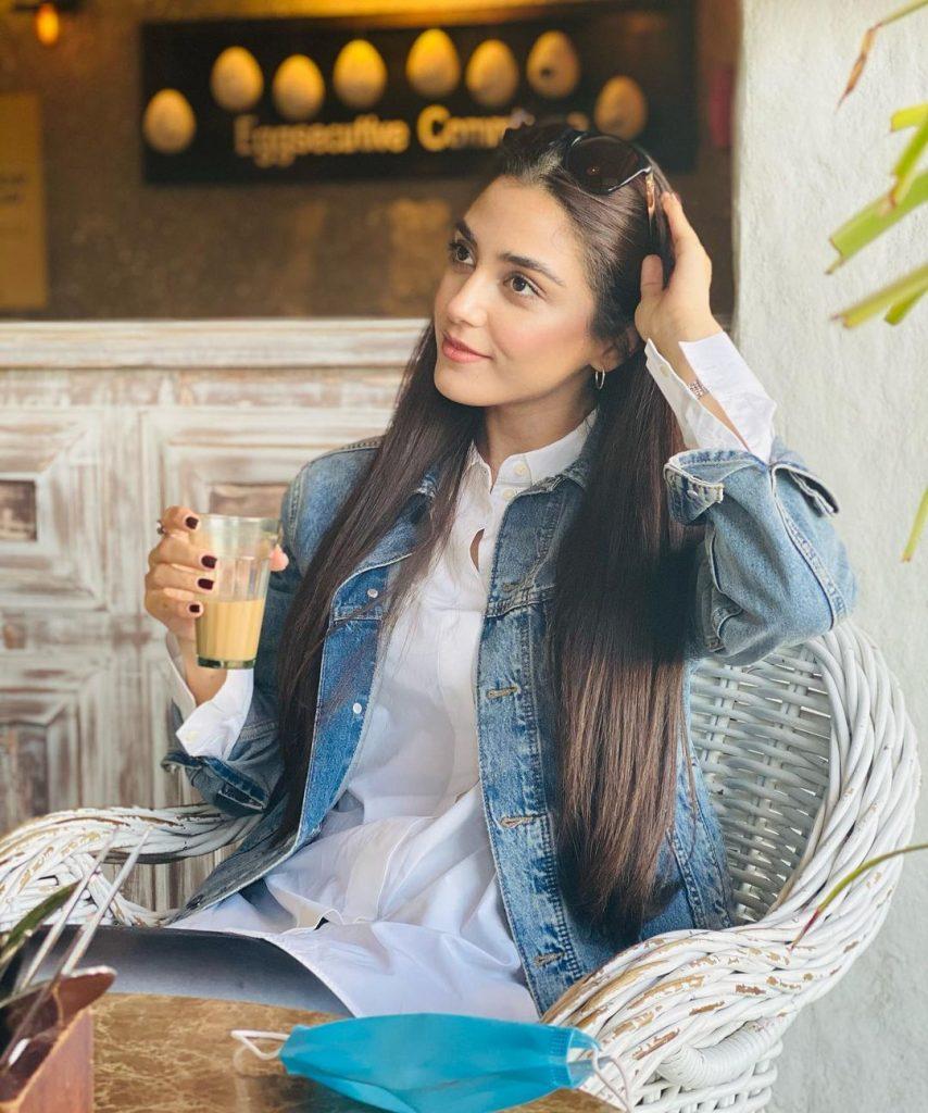 Prettiest and Latest Casual Clicks of Maya Ali