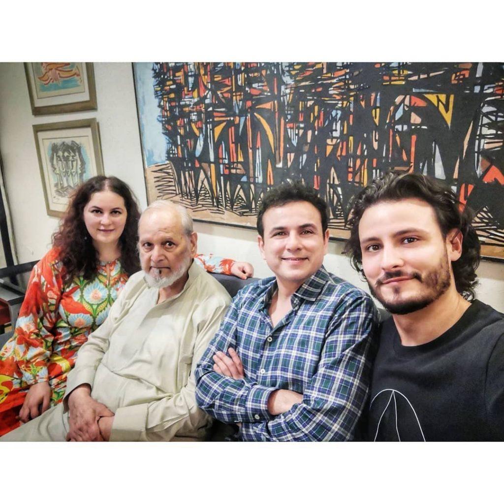 Osman Khalid Butt Beautiful Family Pictures