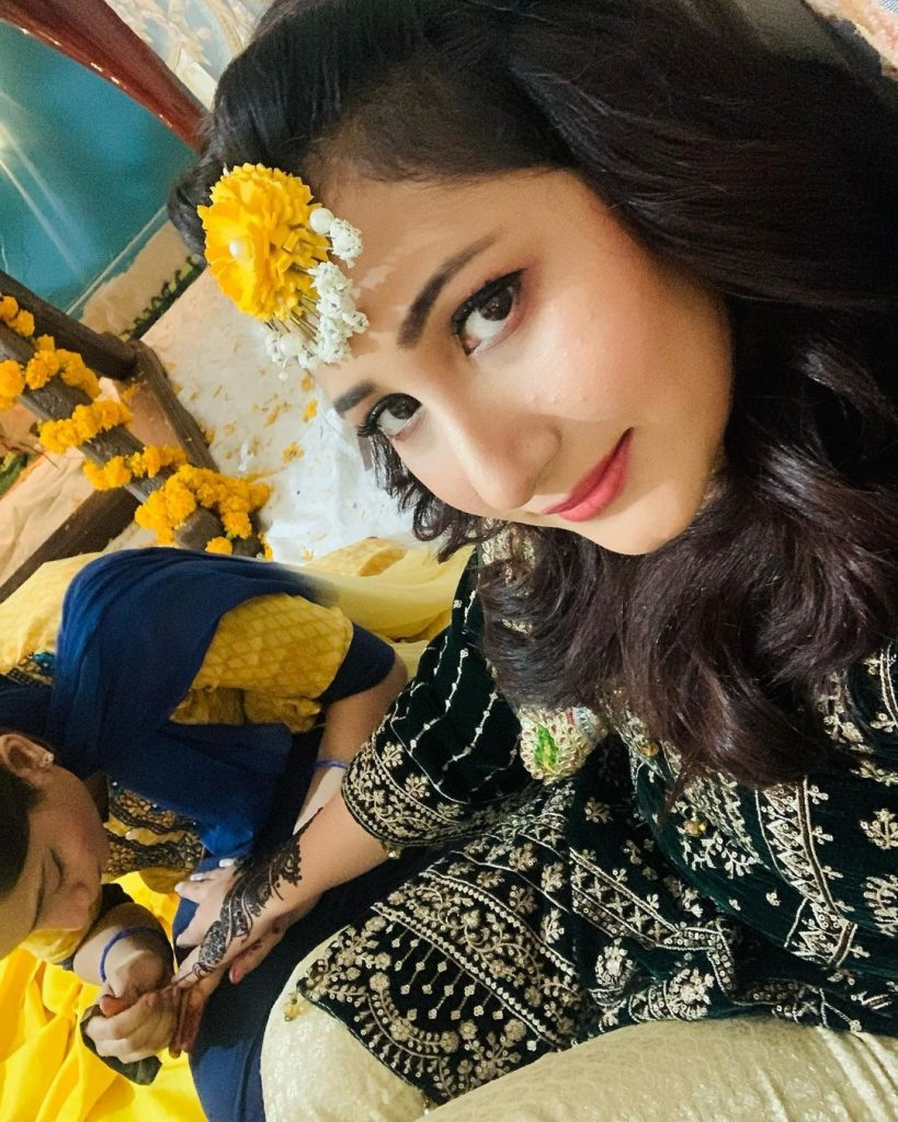 Pari Hashmi Pictures from Sister's Wedding