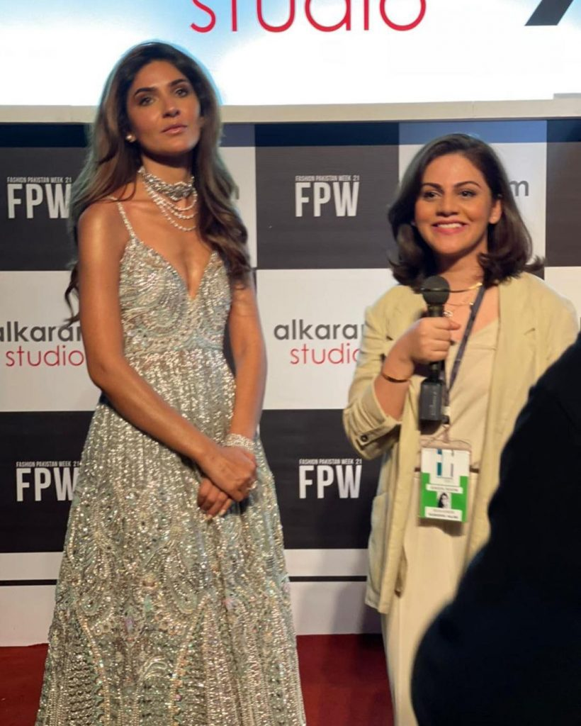 Celebrities Spotted at FPW 2021