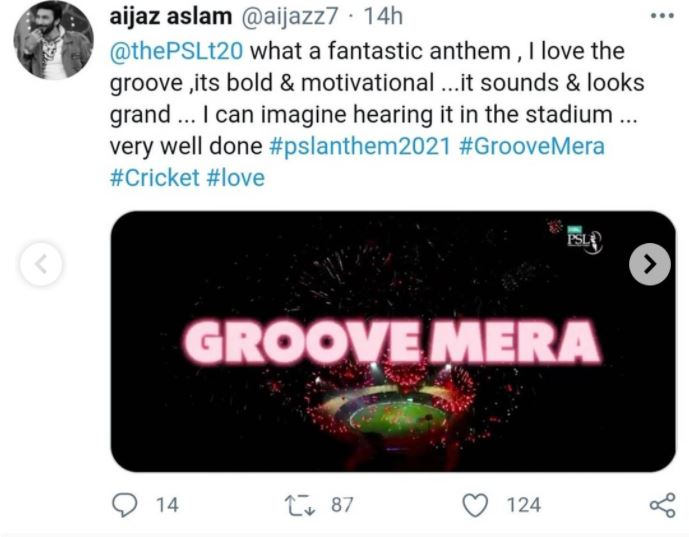 Celebrities Have Expressed Their Views On The New PSL 6 Anthem