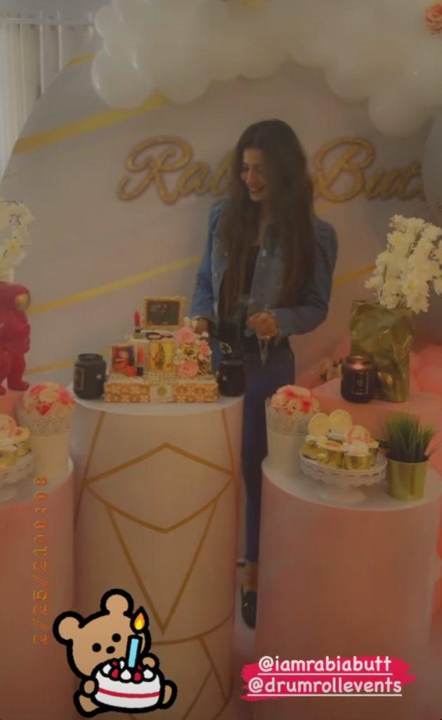 Rabia Butt Birthday Celebration
