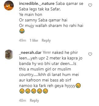 Saba Qamar Receiving Severe Backlash On Her Latest BTS Images
