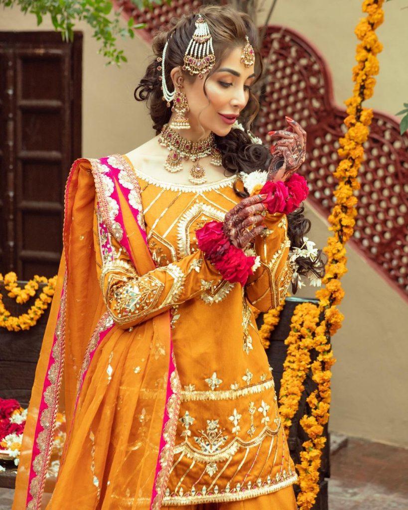 Sabeeka Imam Pulling off Traditional Bridal Look Like A Pro