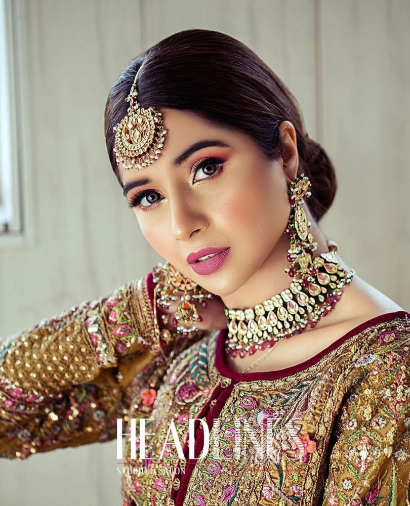 Latest Bridal Shoot Featuring The Gorgeous Sabeena Farooq