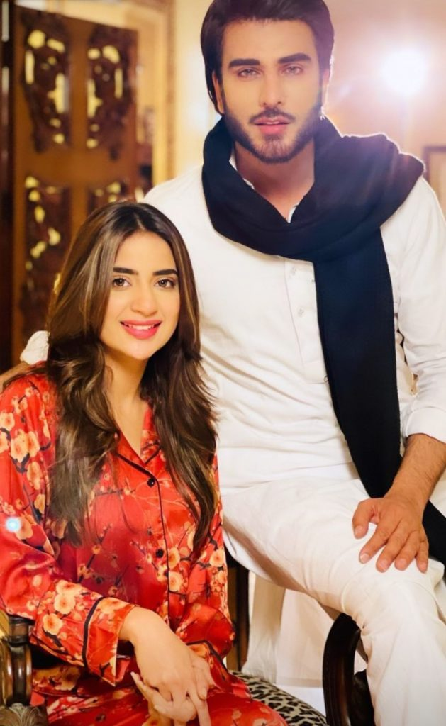 Imran Abbas , Urwa and Saboor 's Pictures From Upcoming Drama