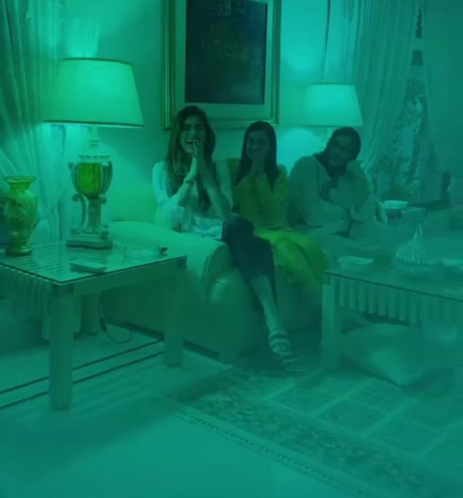Iqra ,Yasir , Sadaf and Shehroz Enjoying in Family Gathering