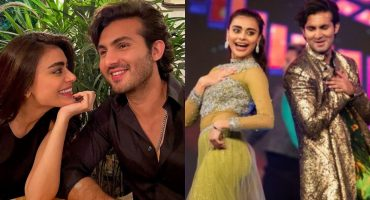 Sadaf Kanwal And Shehroz Sabzwari Shared Their Love Story For The First Time