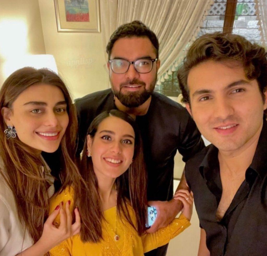 Hina Dilpazeer and Shehroz Sabzwari's Dance Video From Family Event