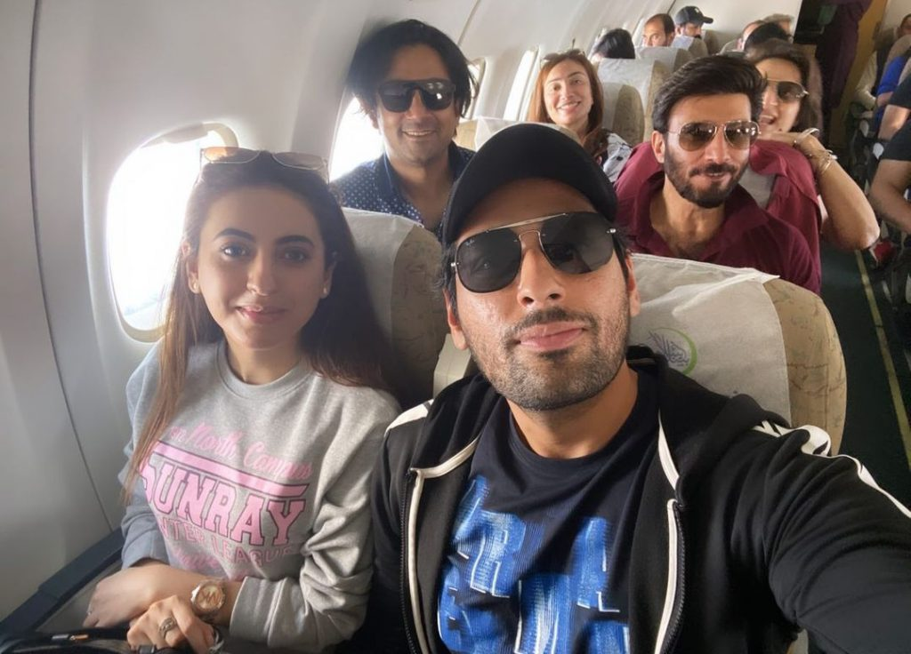 Salman Saeed Pictures With Wife From Gawadar