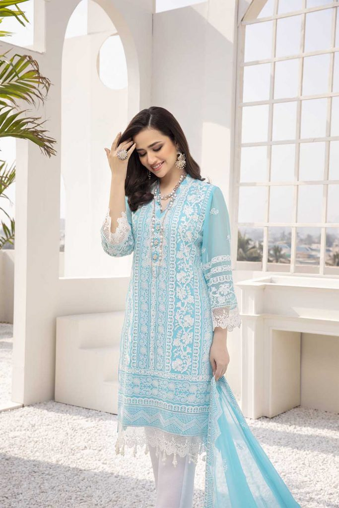 Sana Javed Looks Vibrant In Ensembles By Azure