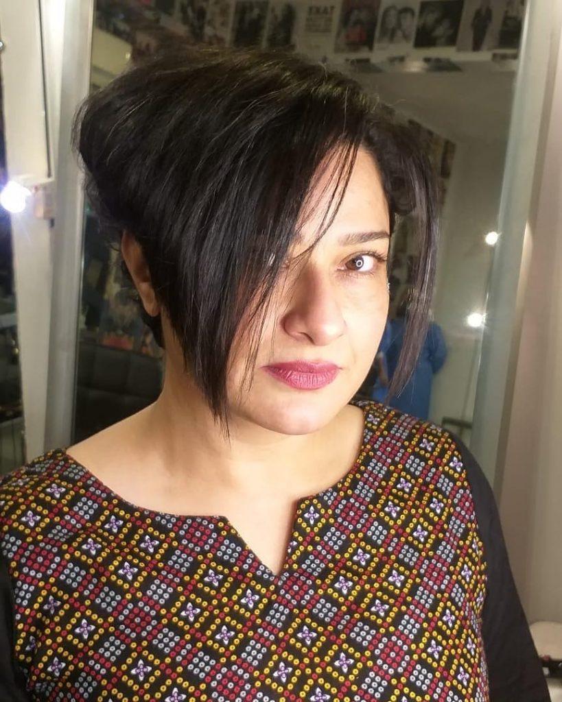New Look Of Sania Saeed