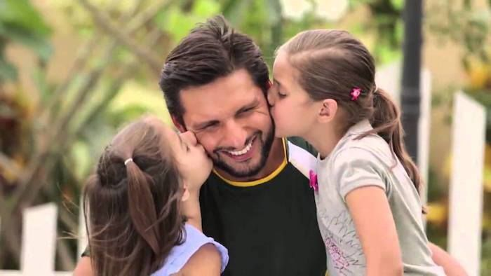 Shahid Afridi Celebrates First Birthday Of His Younger Daughter Arwa