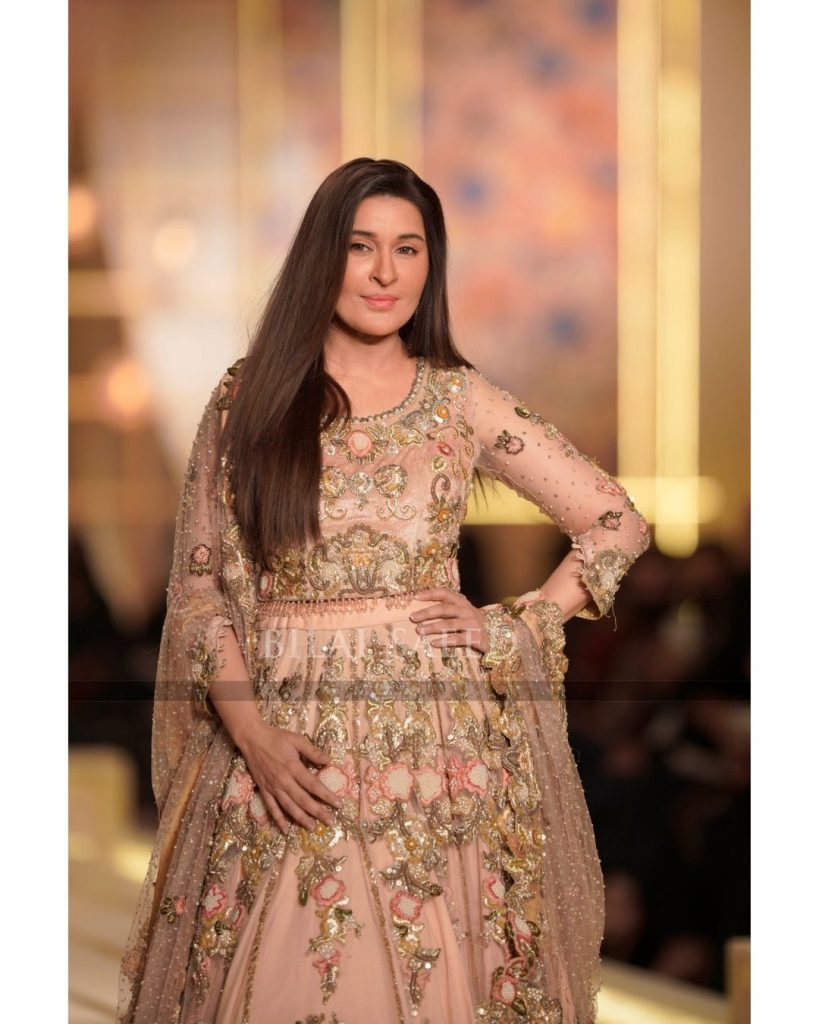 Shaista Lodhi Makes Appearance At 2nd Day Of BCW