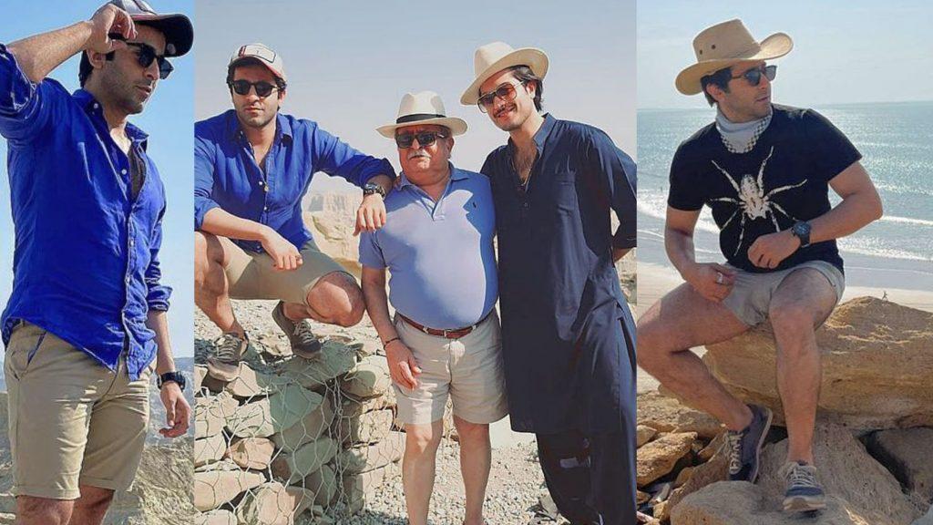 Sheheryar Munawar Pictures from Trip To Balochistan