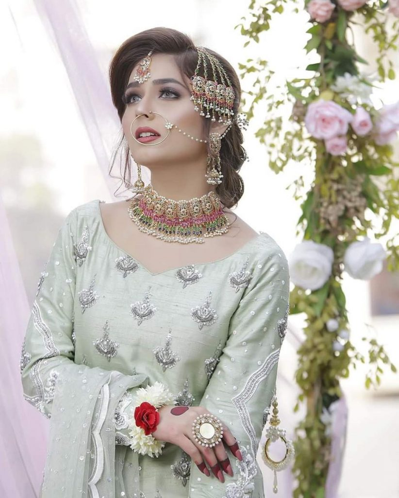 Sumaiyya Bukhsh Looking Gorgeous In Exquisite Bridal Attire