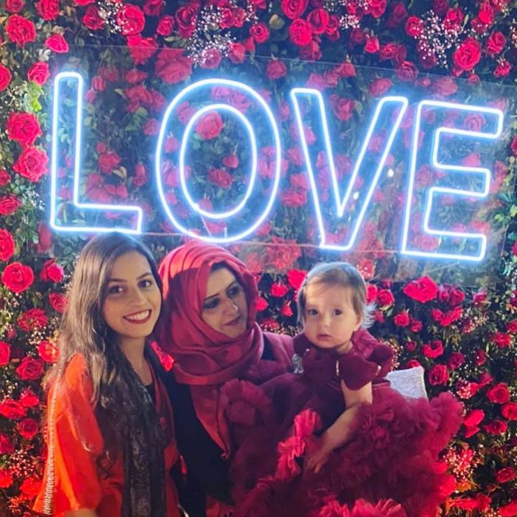 Syeda Bushra Iqbal Pictures With Her Kids