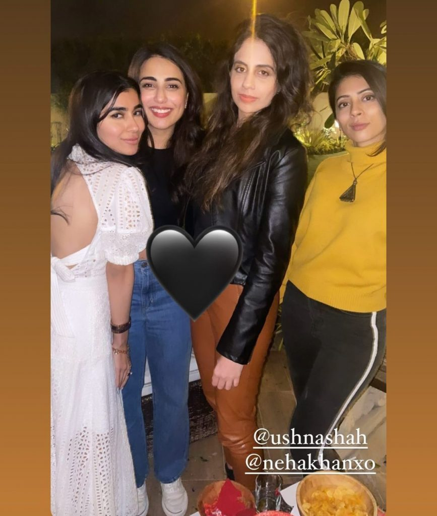 Pictures from Ushna Shah Birthday Bash