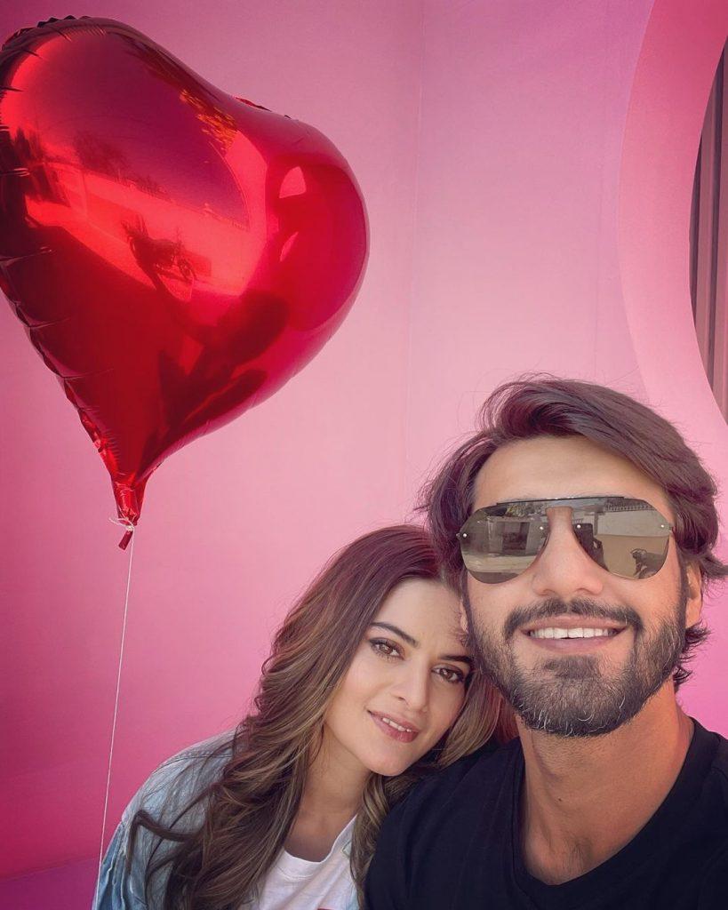 Celebrities Spotted Celebrating Valentine's Day