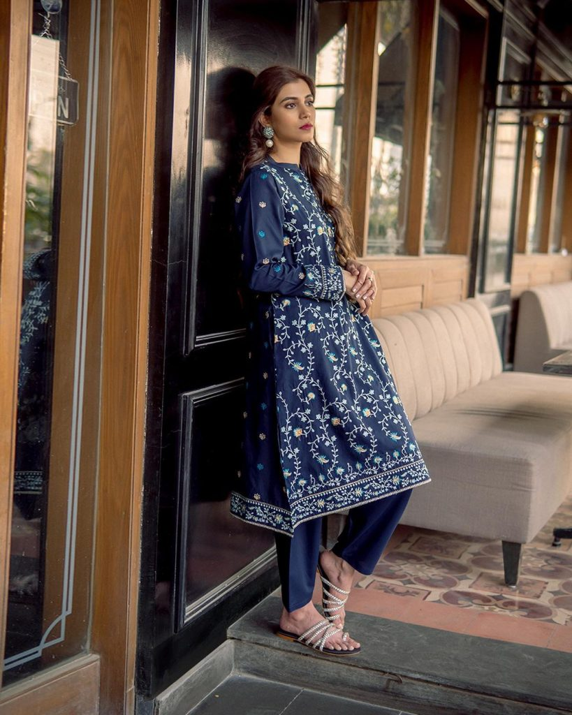 Minna Tariq Featured In EGO Spring Collection