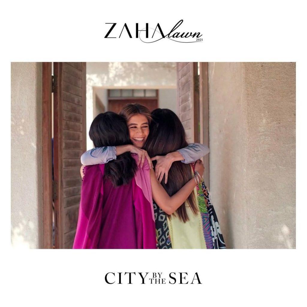 Beautiful Zaha Summer Lawn Collection 2021