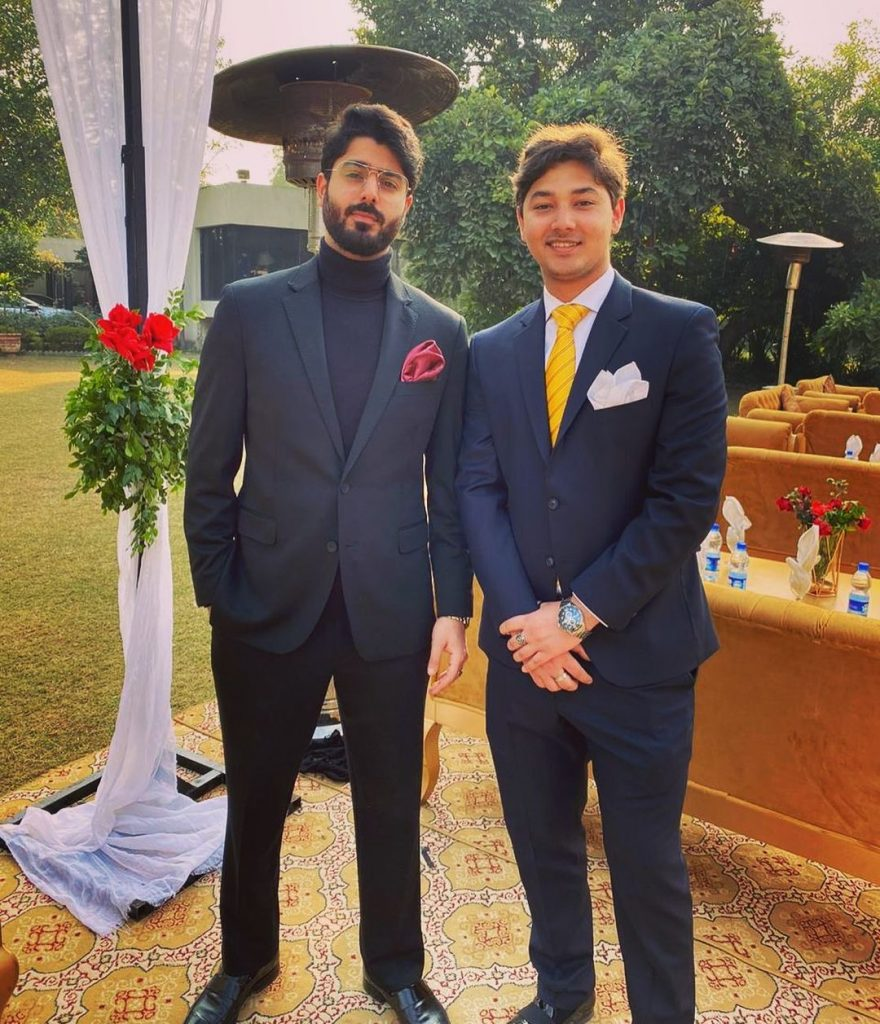 Loveliest Photos of Zaviyar Nauman Ejaz With His Family and Friends