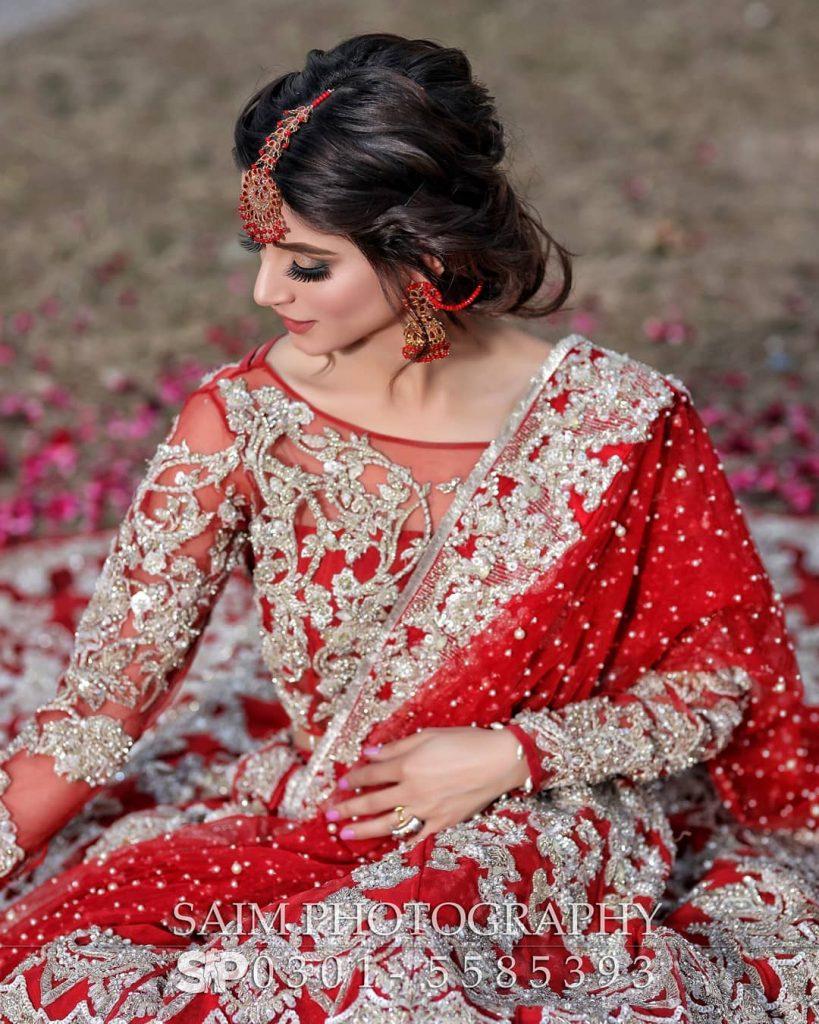 Latest Bridal Shoot Featuring Zubab Rana