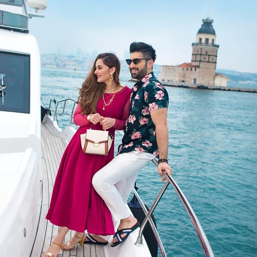 Aiman And Muneeb's Breathtaking Photoshoot In Turkey