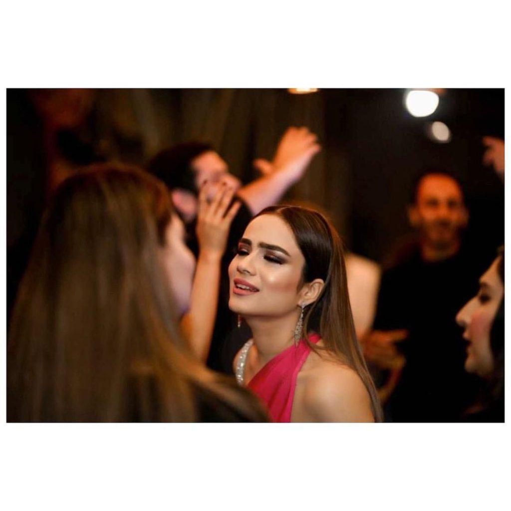 Alyzeh Gabol At Her Friend's Kick-off Party