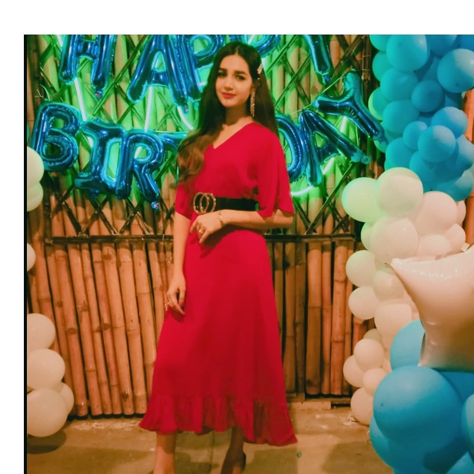 Anum Fayyaz Spotted At A Birthday Event