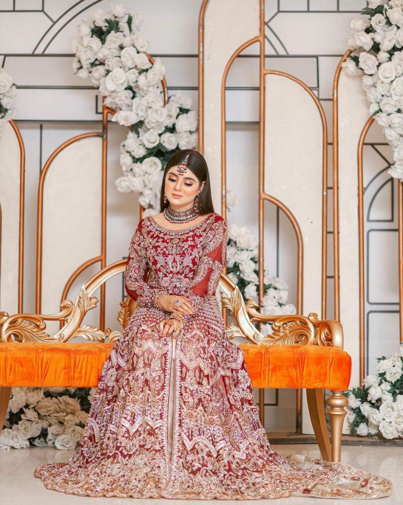 Tiktok Star Areeqa Haq Dolled Up For A Bridal Shoot