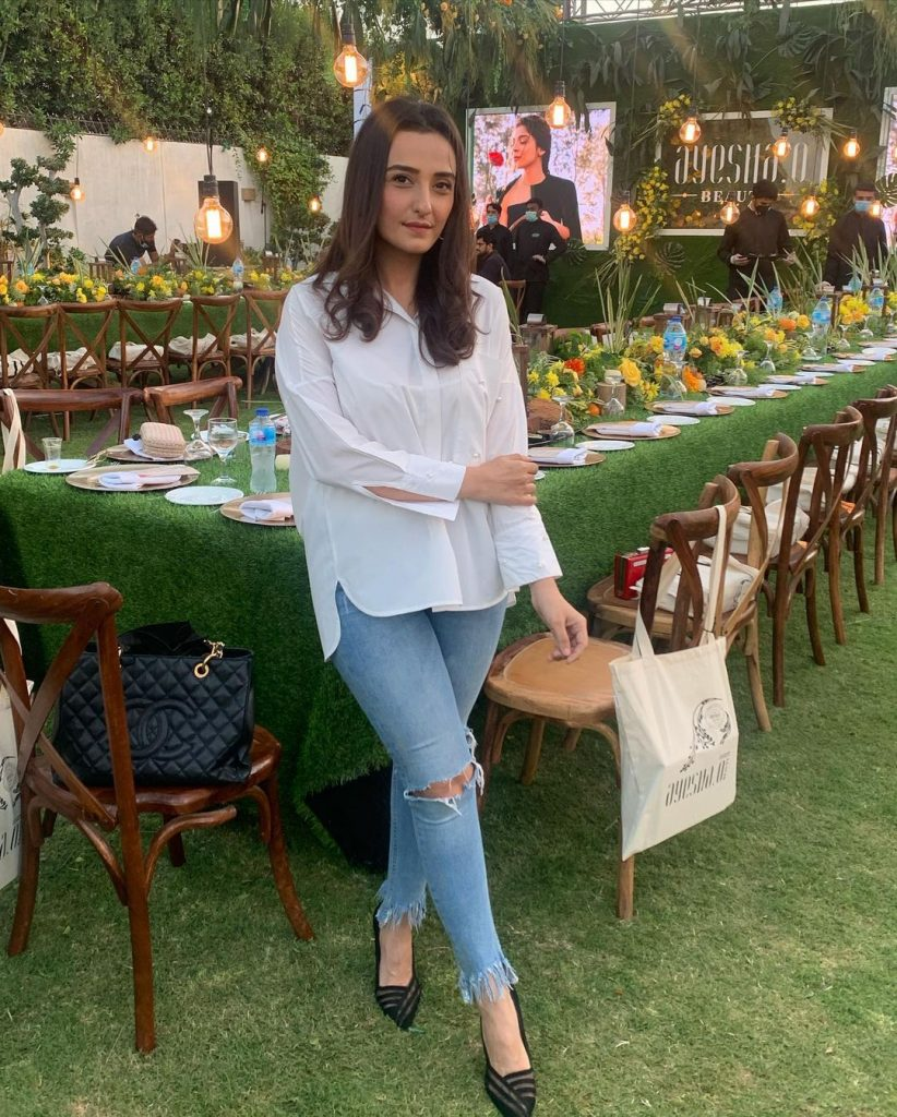 Celebrities Spotted At The Launch Event Of Ayesha O Beauty
