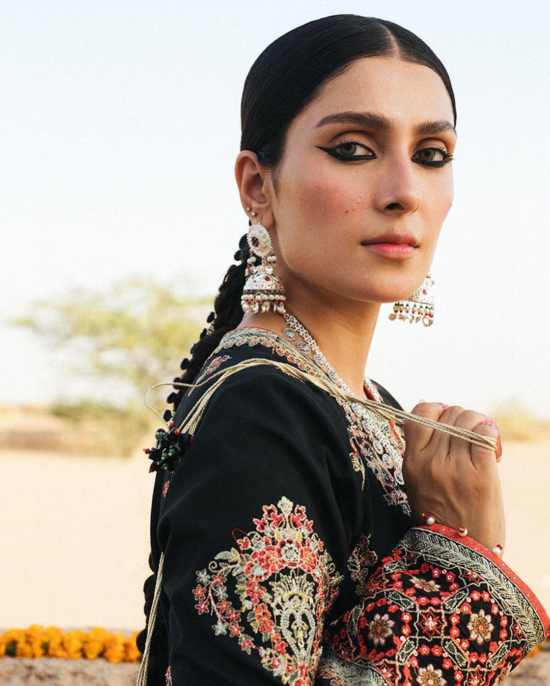 Luxury Lawn Collection by Hussain Rehar Featuring Ayeza Khan